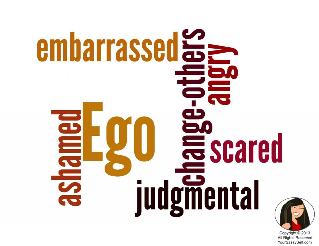 Ego Wordle-YourSassySelf.com