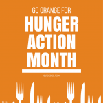 Go Orange for Hunger Action Month