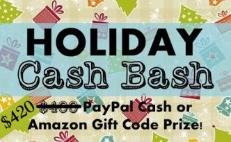 holiday cash bash button