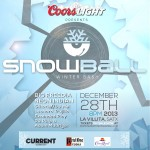 SnowBall Winter Bash Giveaway:  Who Says it Never Snows in San Antonio?