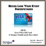 Never Lose Your Stuff Sweepstakes