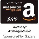 Amazon Gift Card $100 Giveaway
