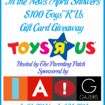 In the News April Showers $100 Toys R Us Gift Card Giveaway