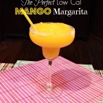 The Perfect Low Cal Mango Margarita
