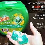 Win a Year's Supply of Gain Flings! #MusicaParaTuNariz