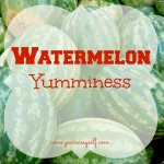 Watermelon Yumminess