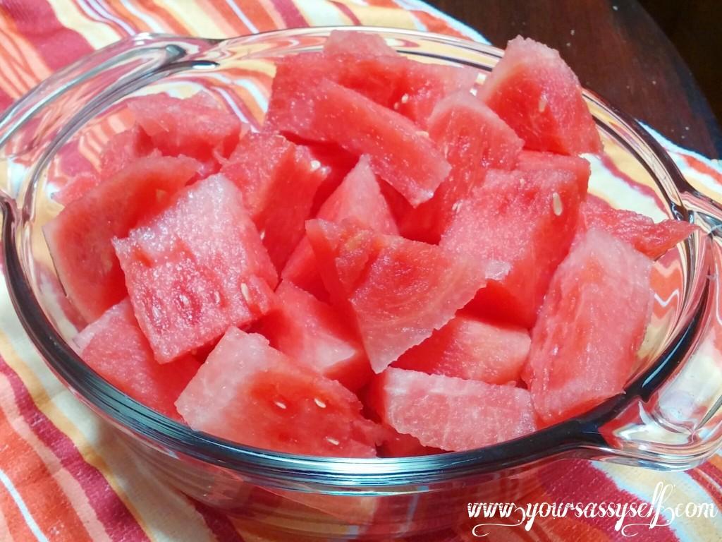 Watermelon Chunks-yoursassyself.com