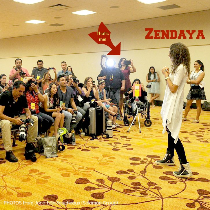 Me at Zendaya Press Conference-yoursassyself.com