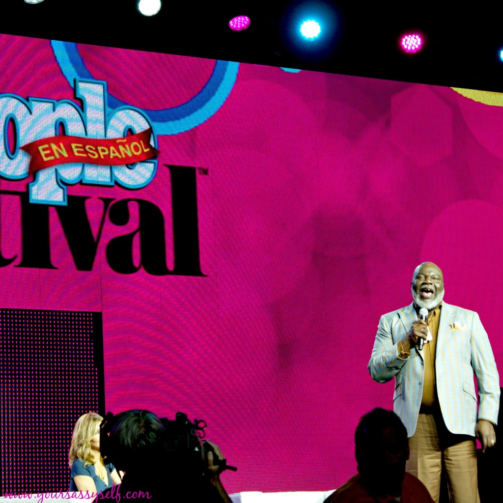 TD Jakes Speaking during #FestivalPeople-yoursassyself.com