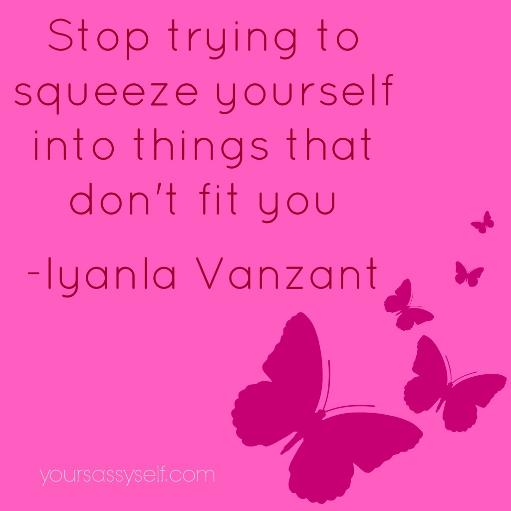 I Don T Fit In Anywhere Quotes: Iyanla Vanzant Wisdom From The #LifeYouWant Tour