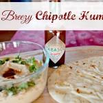 Easy Breezy Chipotle Hummus – Delicious Party Food