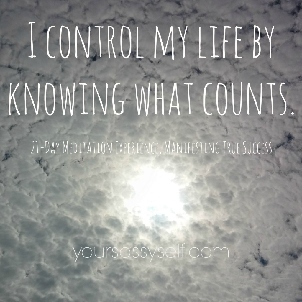 Knowing What Counts Quote - yoursassyself.com