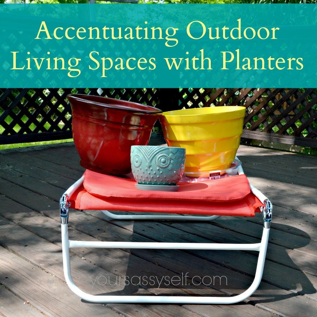 Accentuating Outdoor Living Spaces with Planters-yoursassyself.com