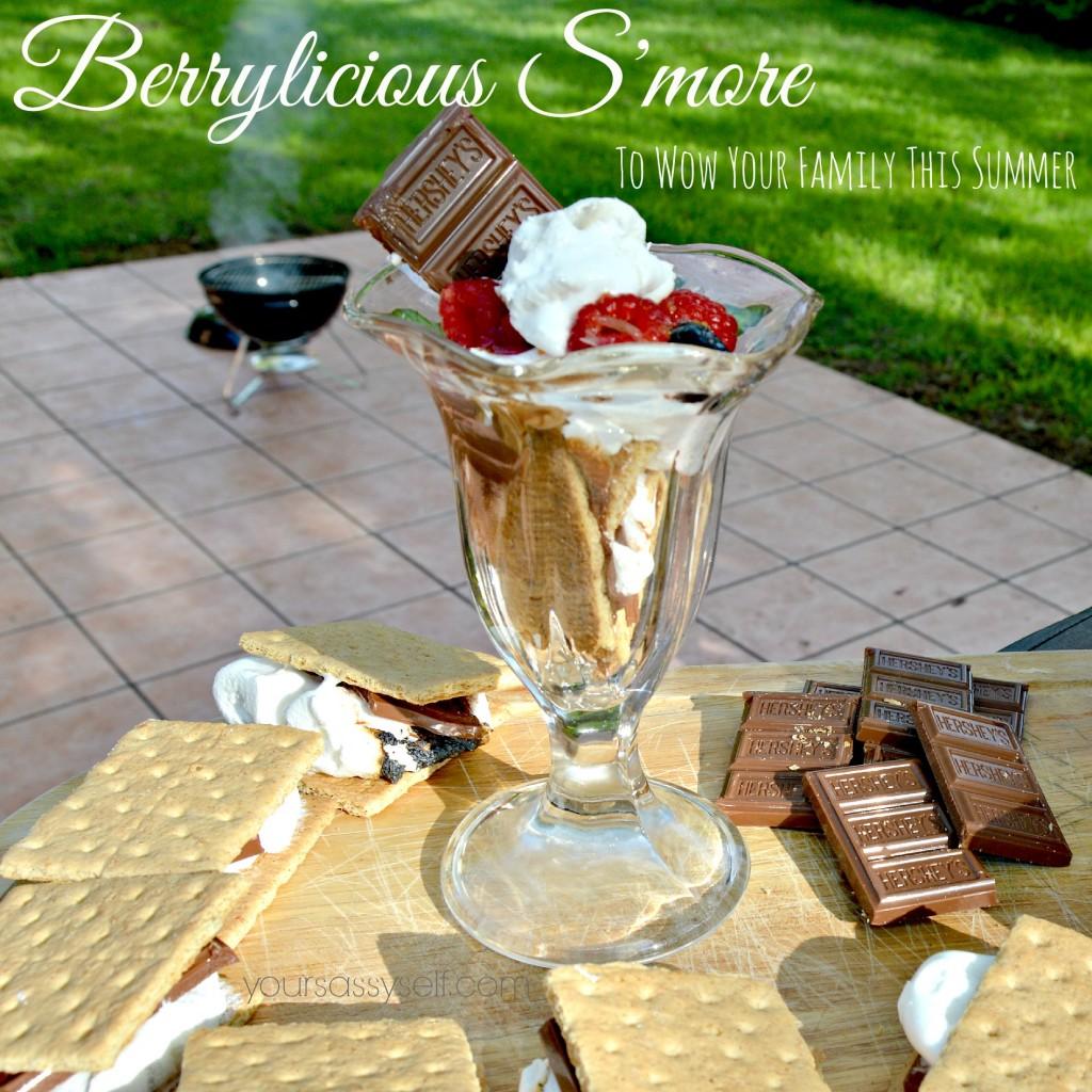 Berrylicious Smore With Hersheys - yoursassyself.com