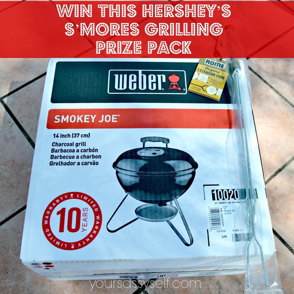 Win Smokey Joe n Extension Fork - Hersheys Prize Pack - yoursassyself.com