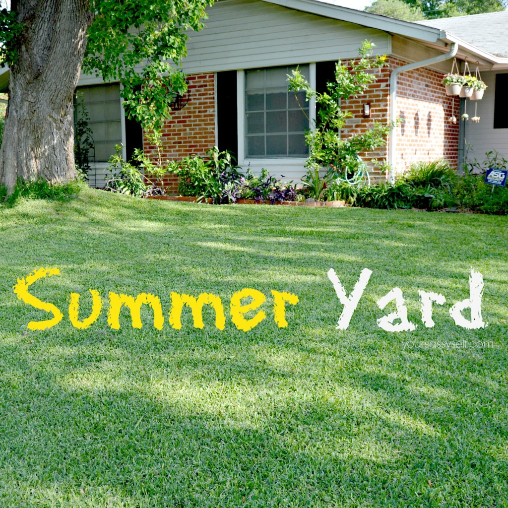Summer Yard - yoursassyself.com