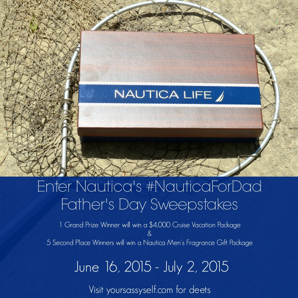 Nautica For Dad Father's Day Sweepstakes - yoursassyself.com