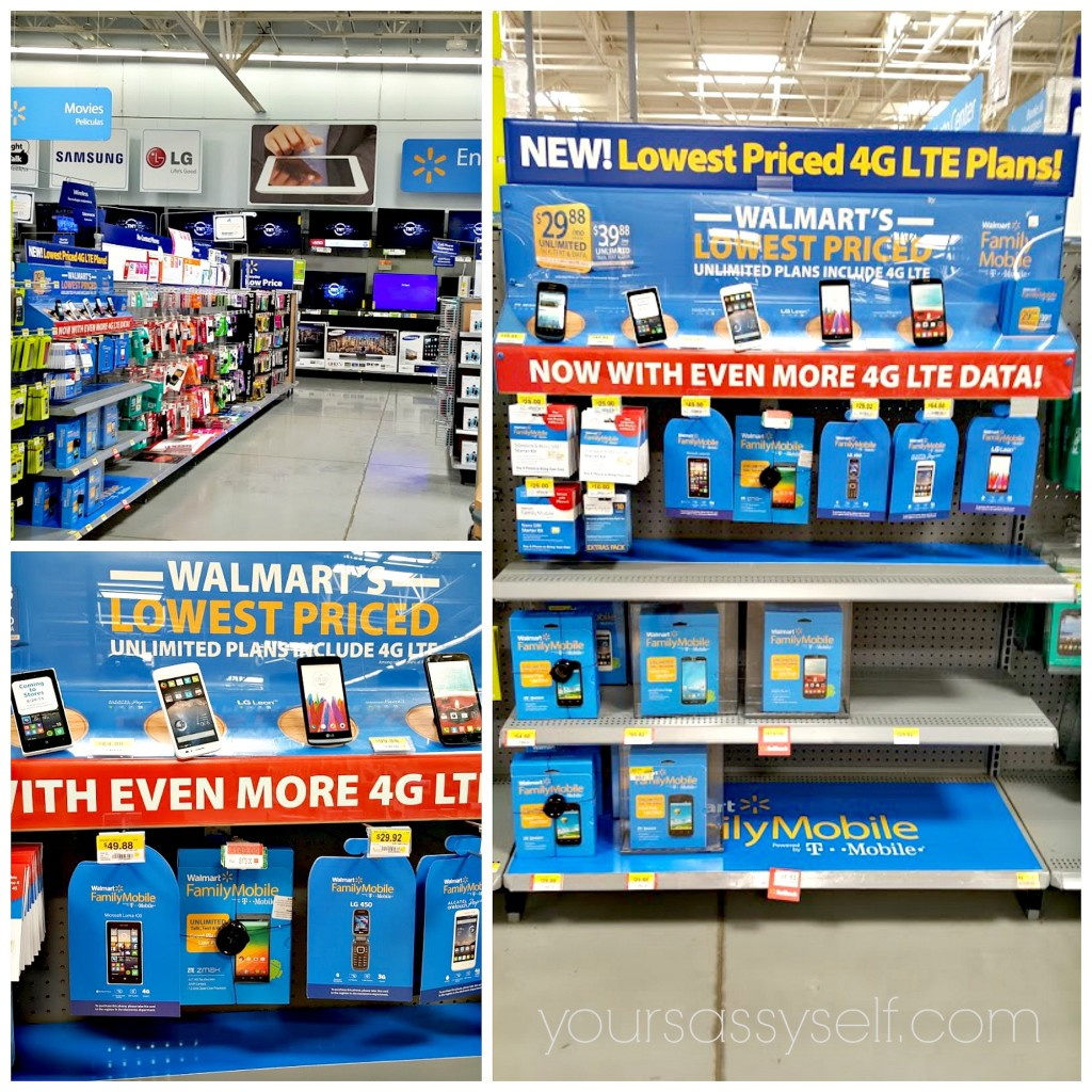Walmart Family Mobile Display - yoursassyself.com
