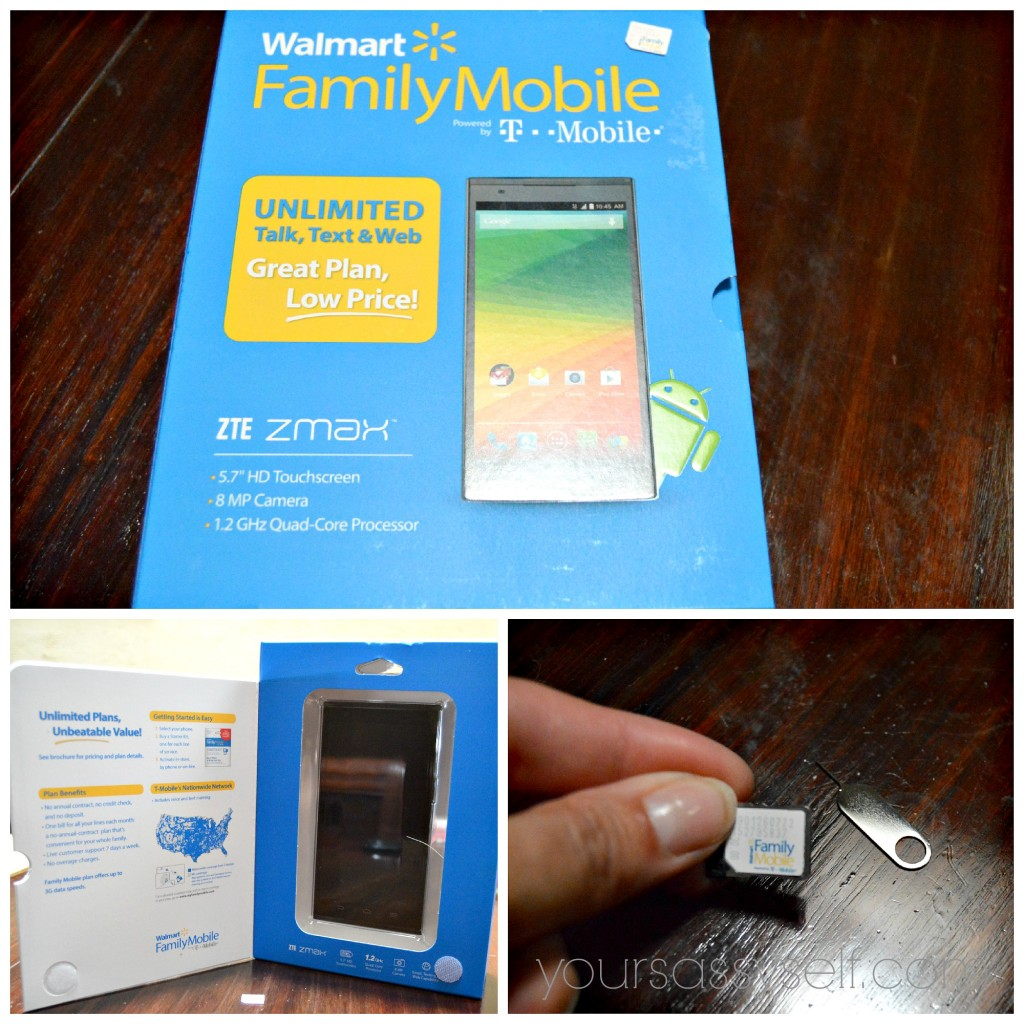 Walmart Family Mobile ZTE Package - yoursassyself.com