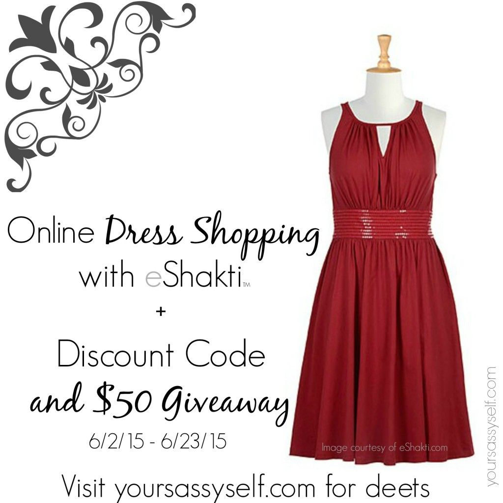 eShakti coupon code and $50 giveaway - yoursassyself.com