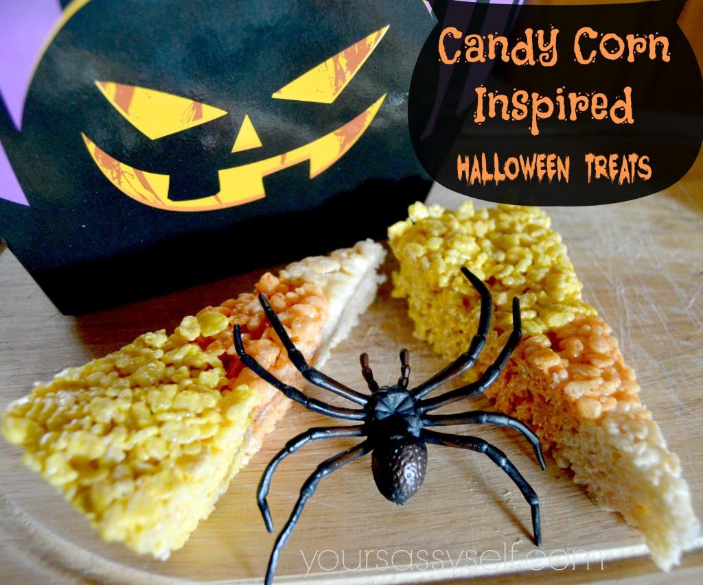 Candy Corn Inspired Halloween Treats - yoursassyself.com