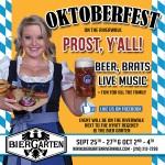 Oktoberfest Returns to the Bier Garten Riverwalk