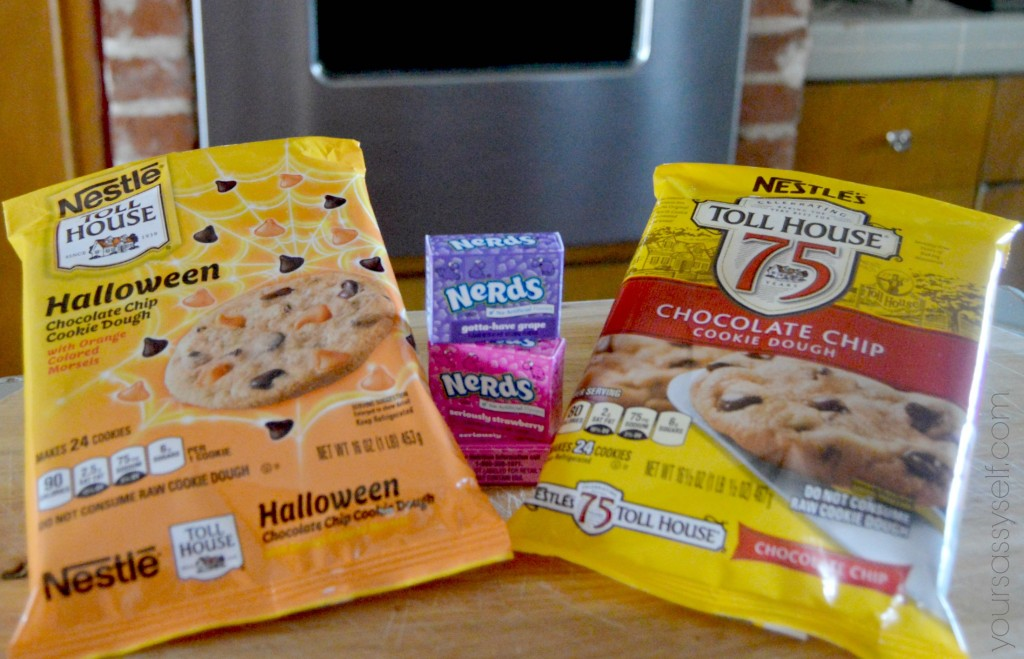 NESTLÉ® TOLL HOUSE® Refrigerated Cookie Dough and NERDS® Fun Size Candy - yoursassyself.com