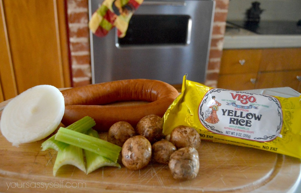 Rice Stuffing Ingredients - yoursassyself.com