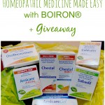 Homeopathic Medicine Made Easy with BOIRON® + Giveaway