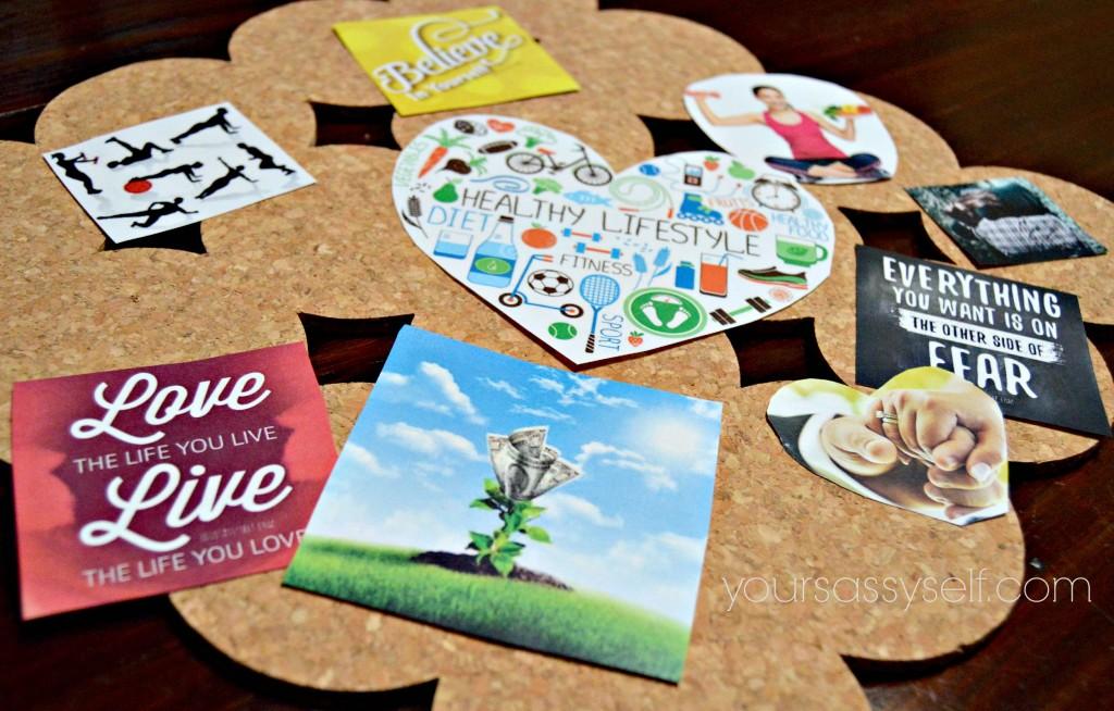 Organizing Vision Board - yoursassyself.com