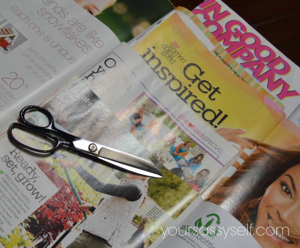 Scissors on Magazine Quotes - yoursassyself.com