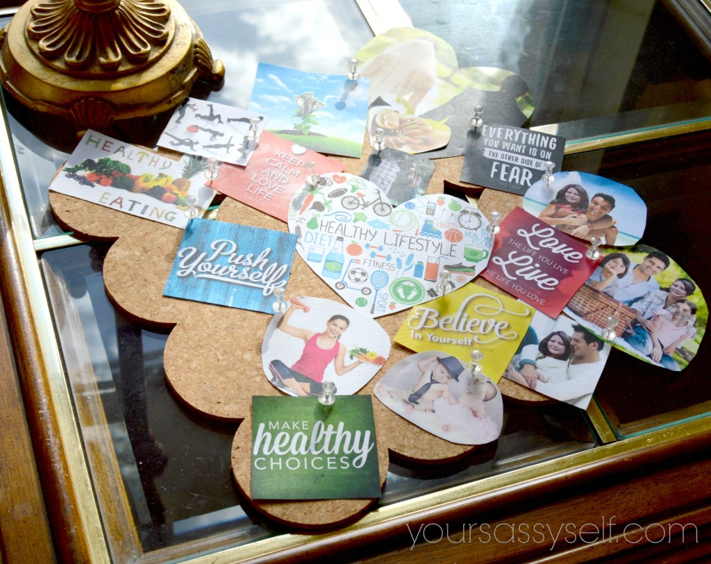 Vision Board Placement - yoursassyself.com