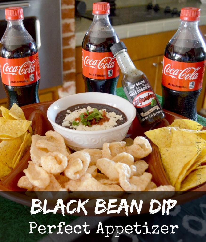 Black Bean Dip - yoursassyself.com