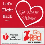 Let's Fight Back and Go Red for Women