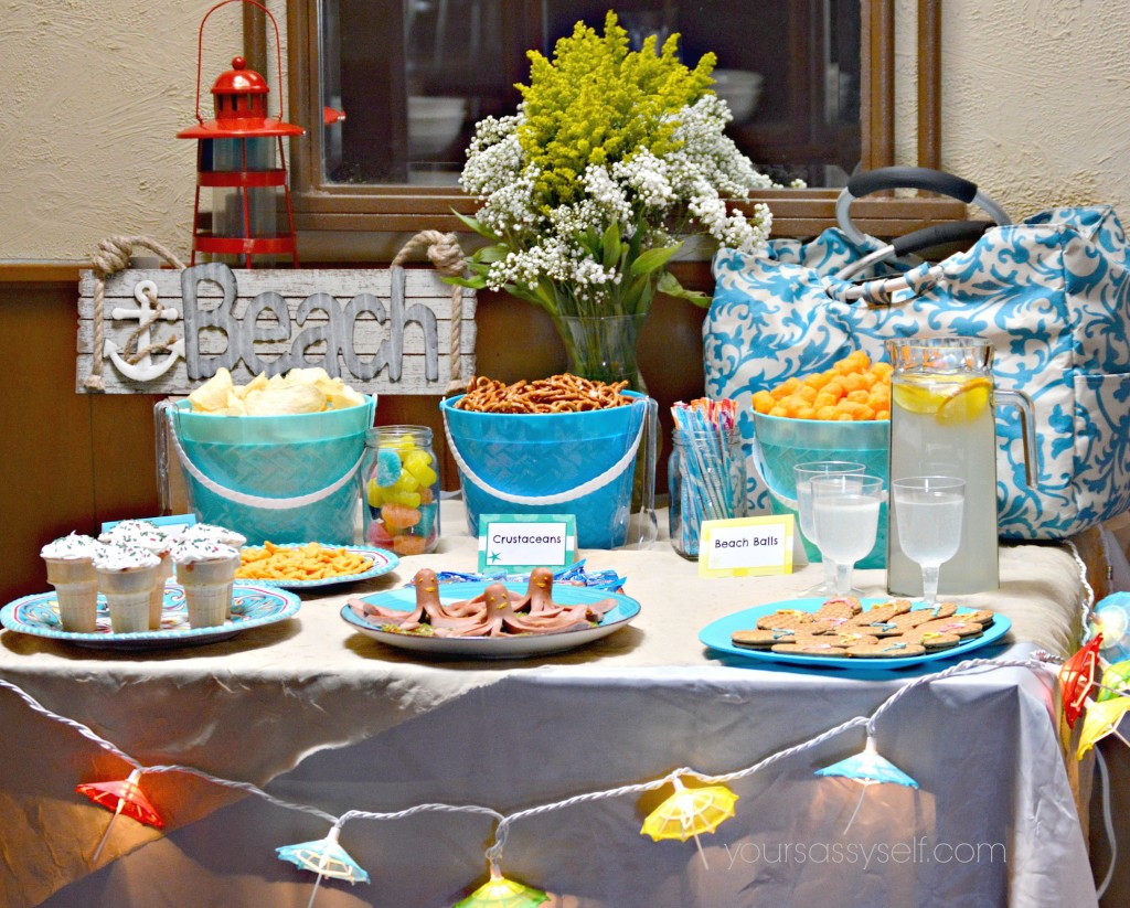 ... with these super easy and fun birthday beach party ideas for any age