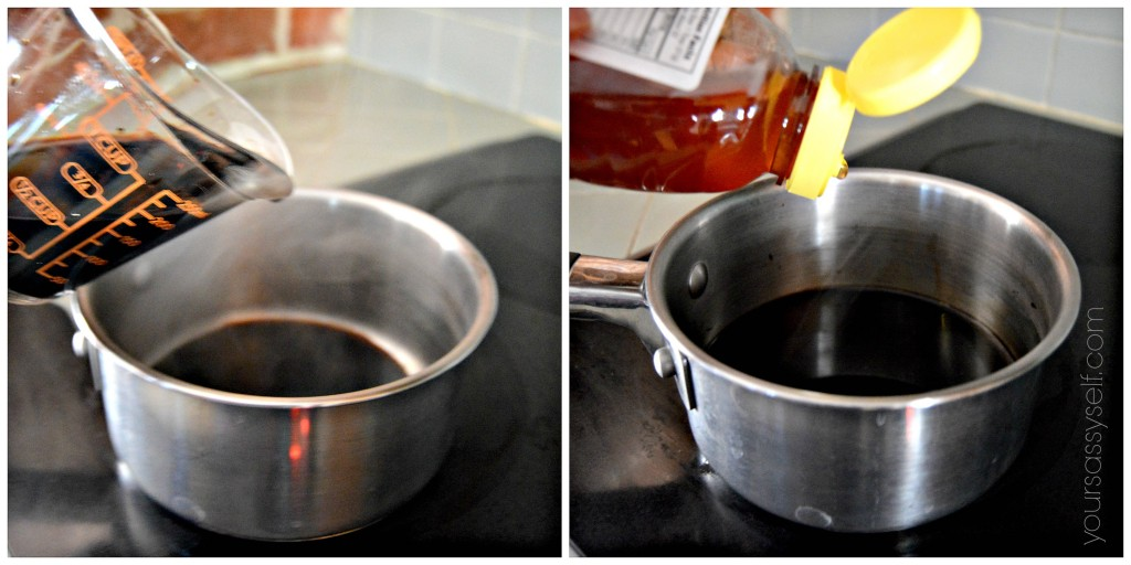 Making Balsamic Reduction - yoursassyself.com