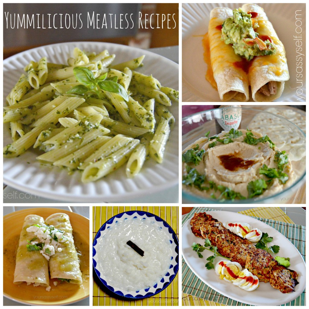 Yummilicious Meatless Recipes - yoursassyself.com