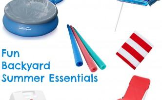 Fun Backyard Summer Essentials - yoursassyself.com