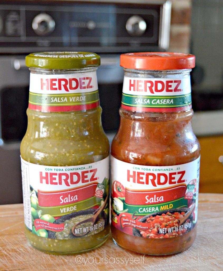 Herdez Salsa Verde y Salsa Casera - yoursassyself.com