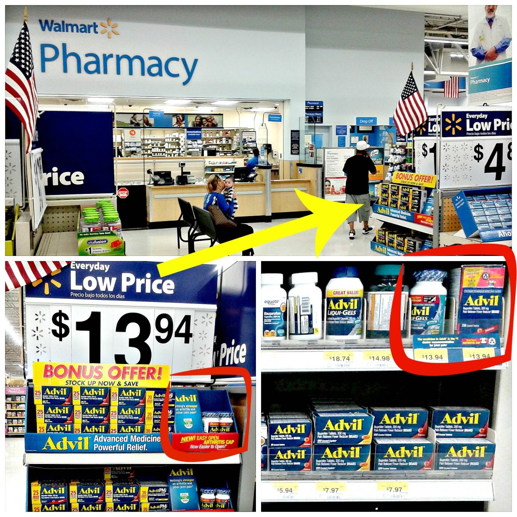 Advil EZ Open at Walmart - yoursassyself.com