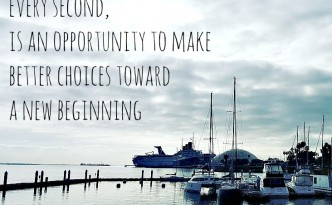 Everyday is an opp to make better choices - yoursassyself quote