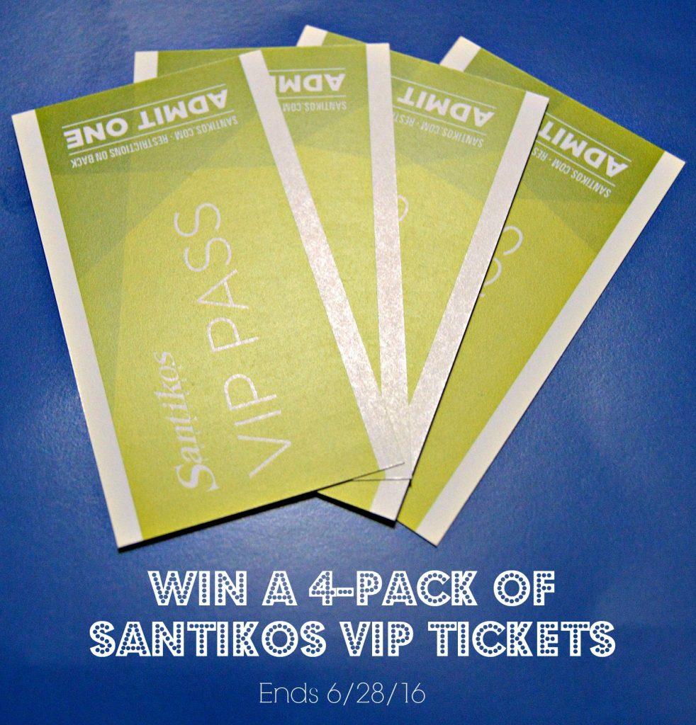 Win a 4 pack of Santikos VIP tickets - yoursassyself.com