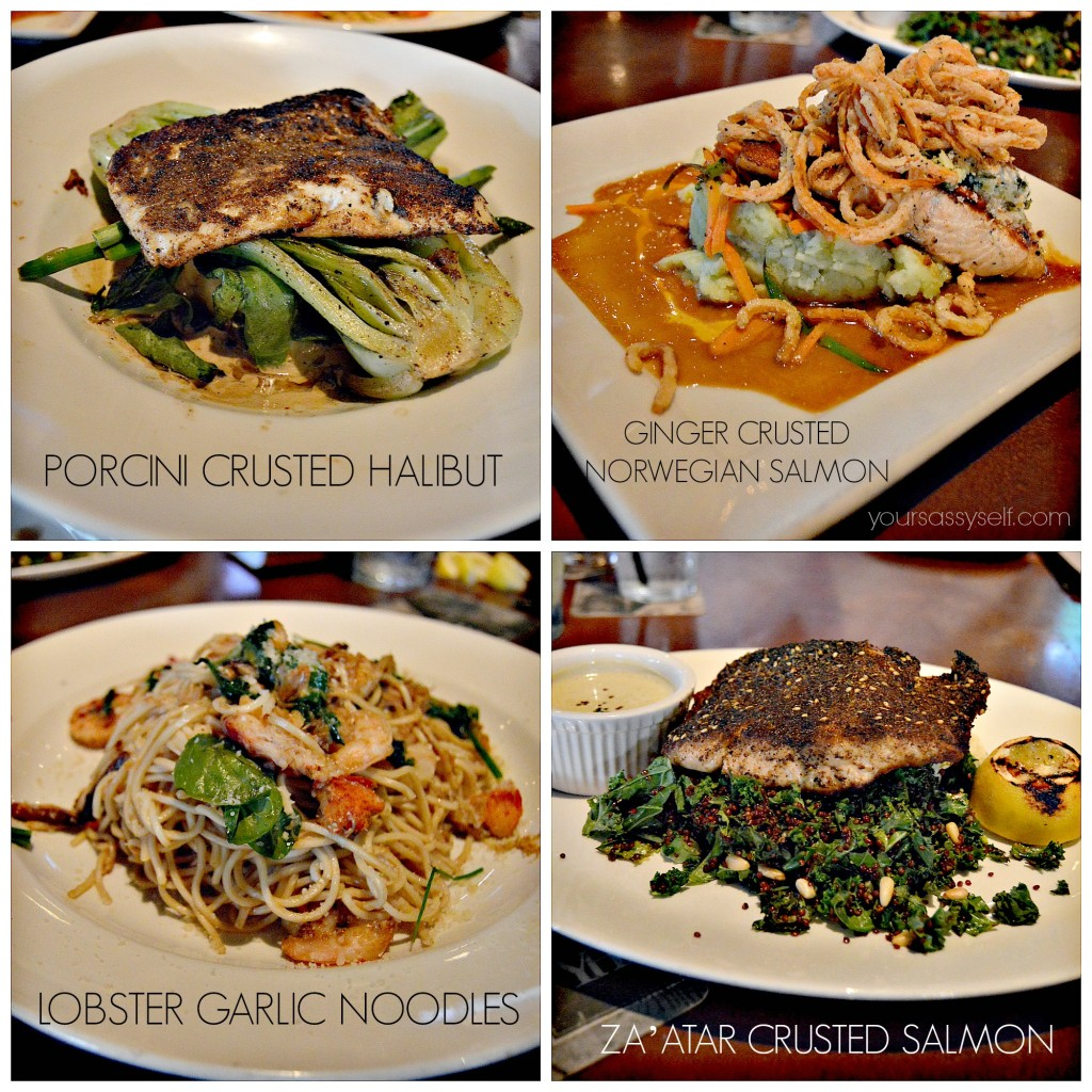 Yard House Seafood Entrees - yoursasssyelf.com
