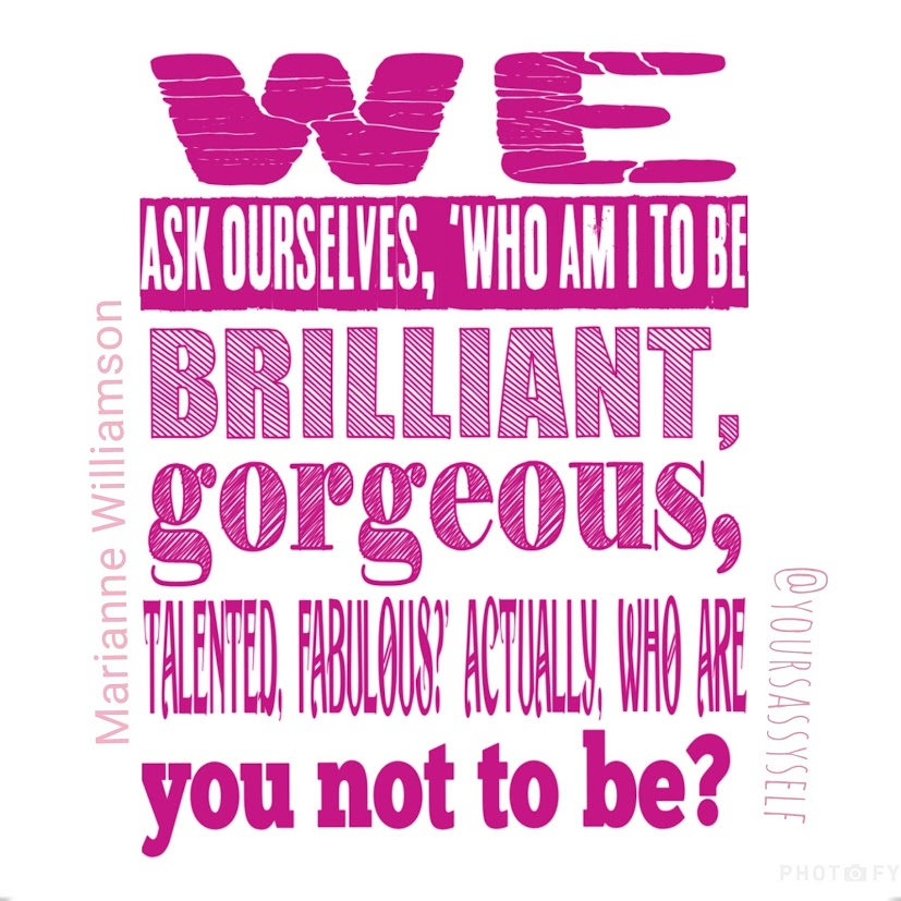 Marianne Williamson quote - yoursassyself.com