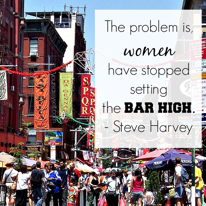 Steve Harvey Women Have Stopped Setting Bar High - yoursassyself.com