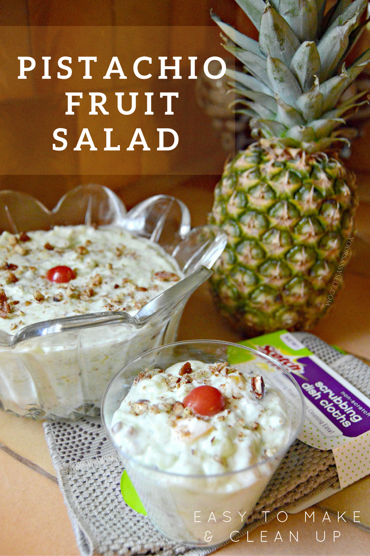 Pistachio Fruit Salad Easy To Make Clean Up