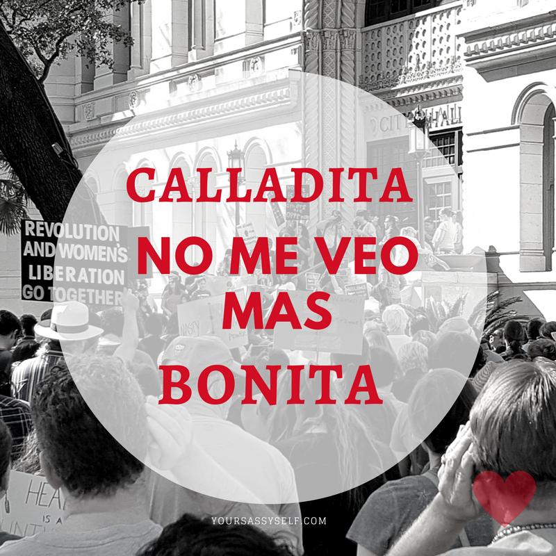 Calladita no me veo mas bonita - yoursassyself.com