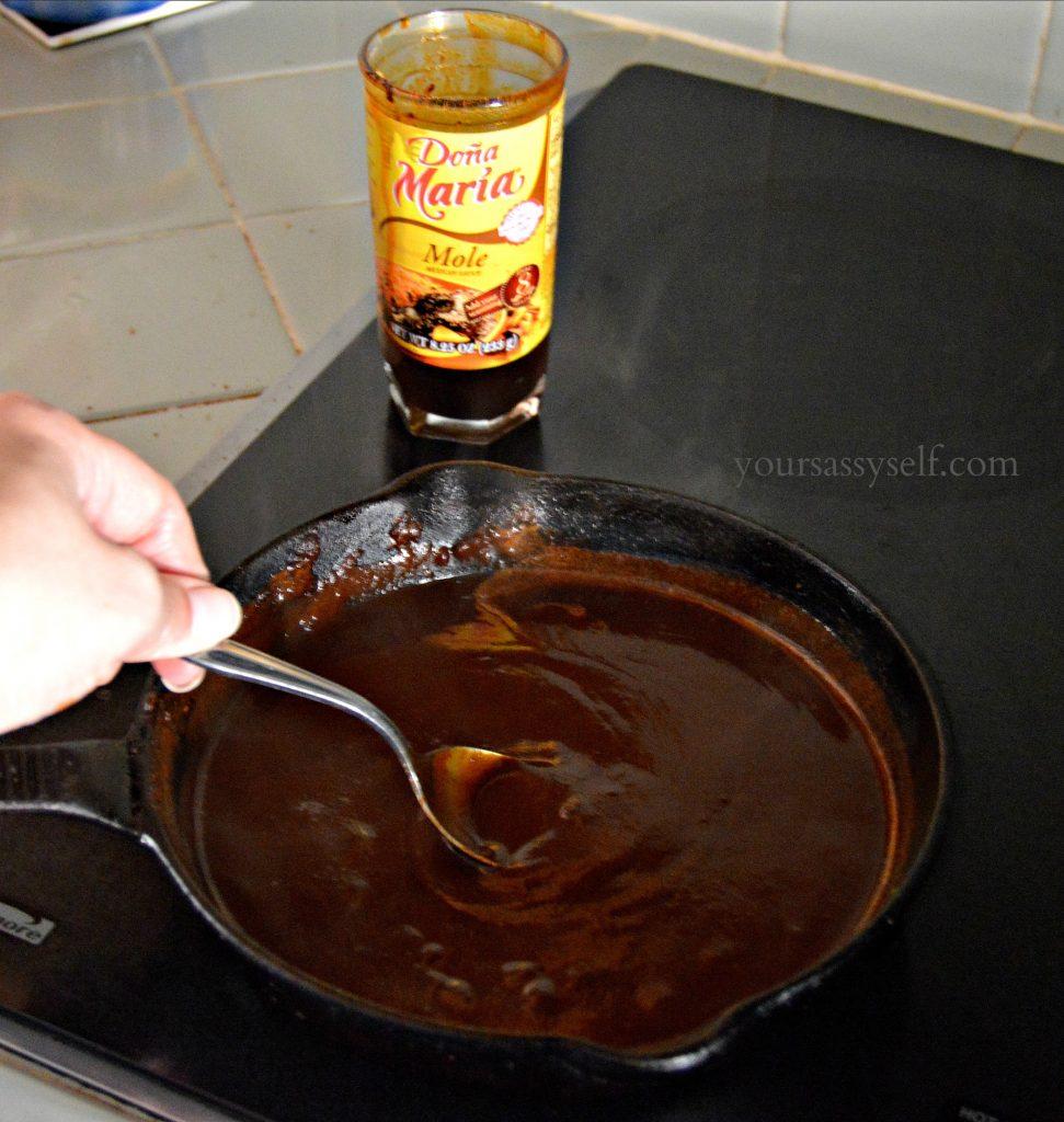 Thickening DOÑA MARÍA® Mole for Enmoladas - yoursassyself.com