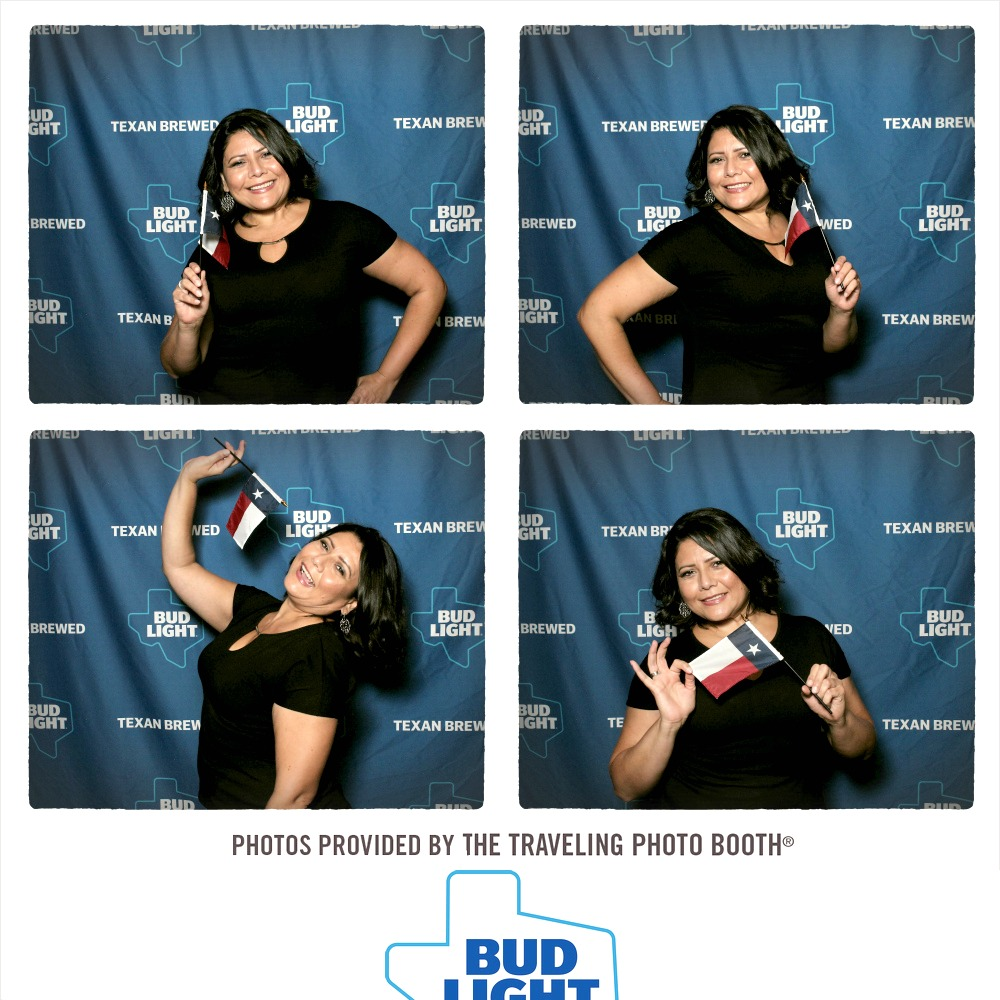 Bud Light Photo Booth pic from Houston Event 6-17 - yoursassyself.com