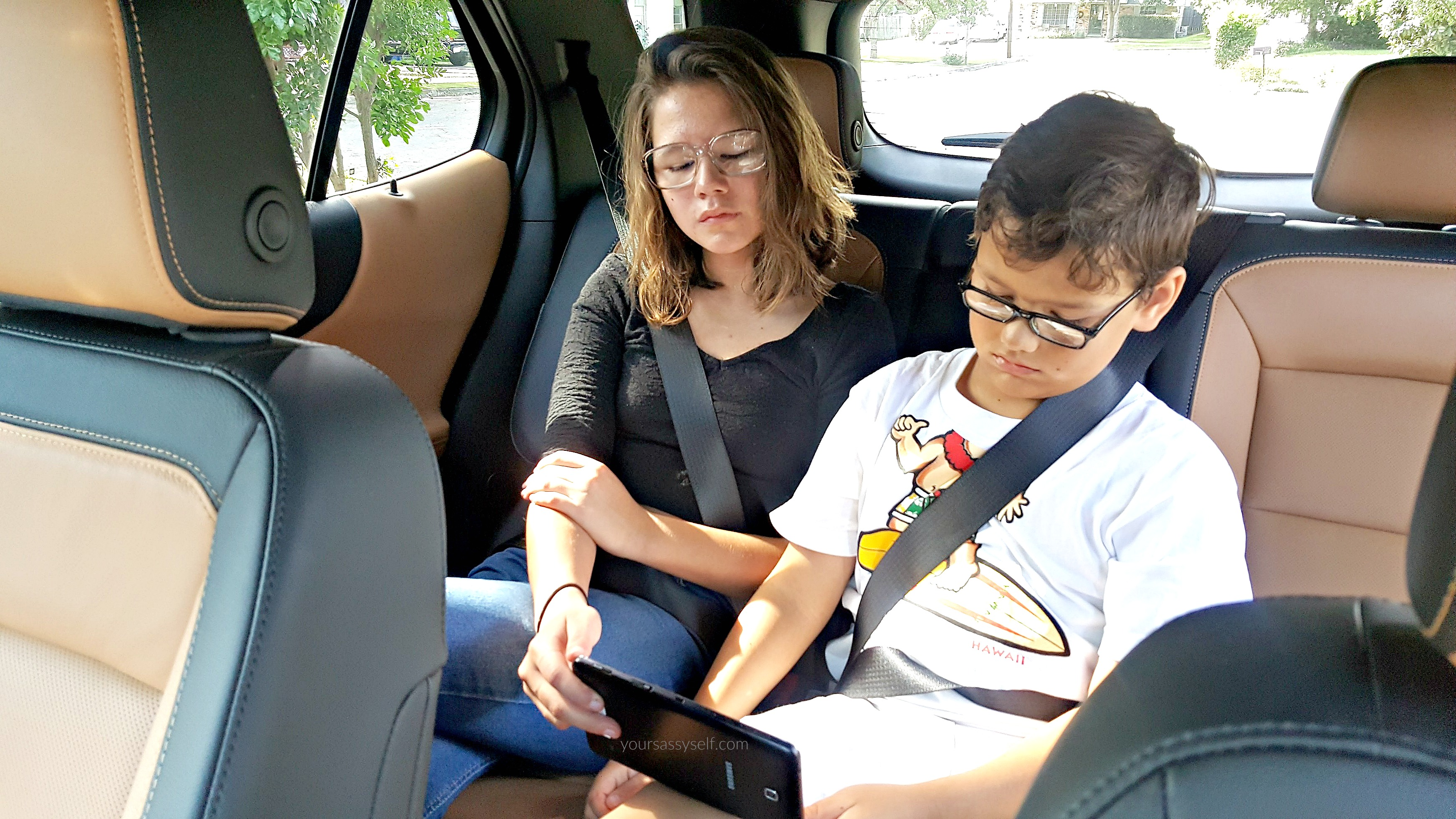 Kids on Tablet in 2018 Chevy Equinox - yoursassyself.com
